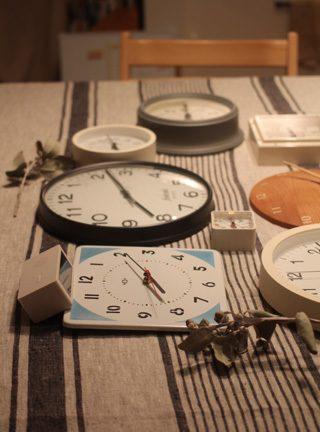 時間の敏感期 家の時計の時刻を合わせる