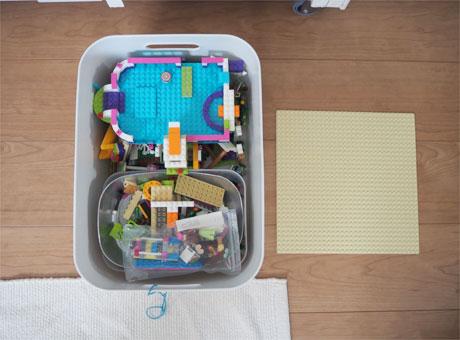 小学1年生のおもちゃ収納