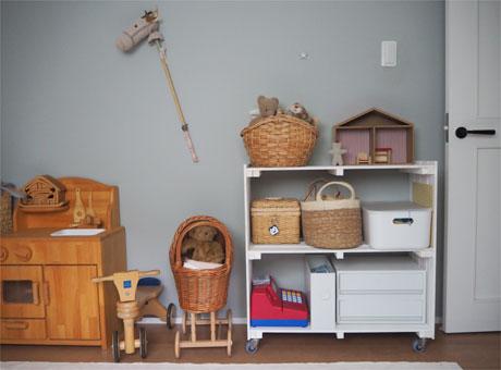 小学1年生の子ども部屋の収納7月