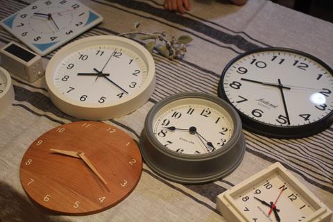 モンテッソーリ教育時計