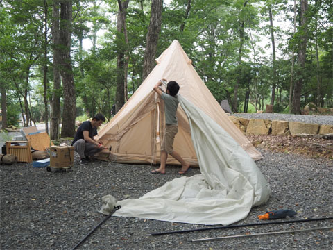 モンテッソーリ教育 小学生のキャンプ