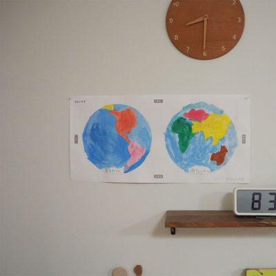 つばめの家オリジナル世界地図