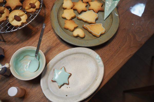 子どもとの夏休み時間~クッキーづくり1